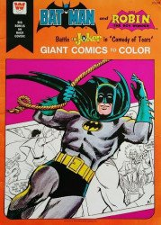 Whitman's Giant Comics to Color: Batman and Robin Soft Cover # 1