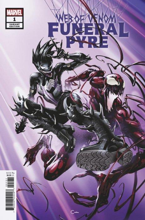 Web of Venom: Funeral Pyre Issue # 1c (Marvel Comics)