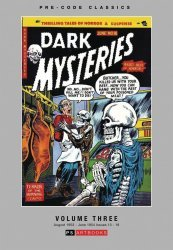 PS Artbooks's Pre-Code Classics: Dark Mysteries Hard Cover # 3