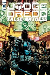 IDW Publishing's Judge Dredd: False Witness Issue # 1