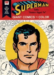 Whitman's Giant Comics to Color: Superman Soft Cover # 2