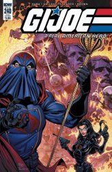 IDW Publishing's G.I. Joe: A Real American Hero Issue # 240sub