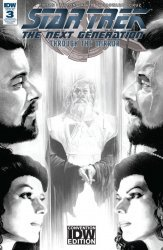 IDW Publishing's Star Trek the Next Generation: Through the Mirror Issue # 3re