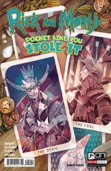 Oni Press's Rick and Morty: Pocket Like You Stole It Issue # 5b