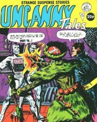 Alan Class & Company's Uncanny Tales Issue # 135