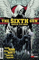 Oni Press's Sixth Gun: Days of the Dead Issue # 3