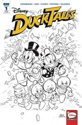 IDW Publishing's DuckTales Issue # 1ri-b