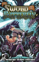 Razor Wolf Entertainment's Sword And The Butterfly Soft Cover # 1