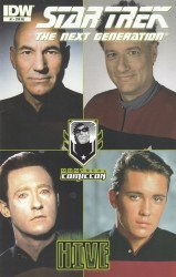 IDW Publishing's Star Trek: The Next Generation - Hive Issue # 1re