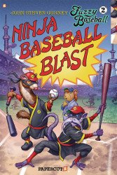 Papercutz's Fuzzy Baseball Soft Cover # 2