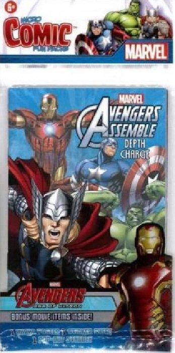 Avengers New Depth Charge 2015 Marvel Micro Comic Fun Packs