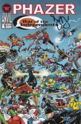 Red Anvil Comics's Phazer: War of the Independents Issue # 1
