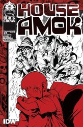 IDW Publishing's House Amok Issue # 5ri