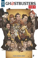 IDW Publishing's Ghostbusters 101 Issue # 3sub