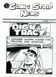 Quality Comics Group's Comic Strip News Issue # 16