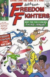 Dutch Bros. Comics's Dutch Bros. Freedom Fighters Issue # 3