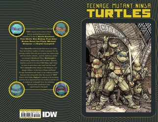IDW Publishing's Teenage Mutant Ninja Turtles: Macro-Series TPB # 1