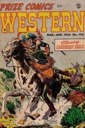 Prize Publications's Prize Comics Western Issue # 104