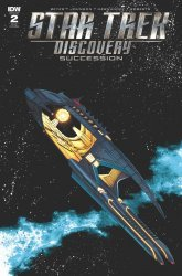 IDW Publishing's Star Trek Discovery: Succession Issue # 2ri-b