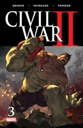 Marvel Comics's Civil War II Issue # 3