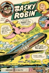 3-D Cosmic Publications's Fun with Basky and Robin Issue # 24
