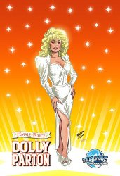 Tidal Wave Studios's Female Force: Dolly Parton Issue # 1comic flea-a