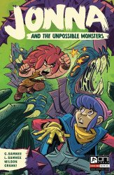 Oni Press's Jonna and the Unpossible Monsters Issue # 2b