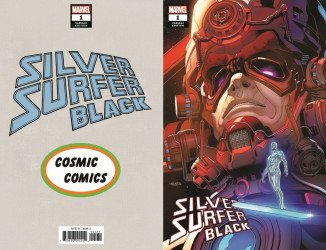 Marvel Comics's Silver Surfer: Black Issue # 1cosmic