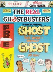 Marvel UK's The Real Ghostbusters Issue # 28