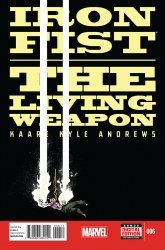 Marvel's Iron Fist: The Living Weapon Issue # 6
