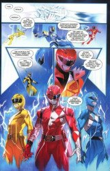 BOOM! Studios's Mighty Morphin Power Rangers Issue # 40c