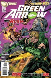 DC Comics's Green Arrow Issue # 3