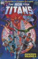 DC Comics's The New Teen Titans Omnibus Hard Cover # 4