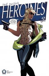 Space Goat Productions 's Heroines Issue # 2