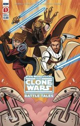 IDW Publishing's Star Wars Adventures: Clone Wars - Battle Tales Issue # 1 - 2nd print