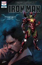 Marvel Comics's Tony Stark: Iron Man Issue # 1u