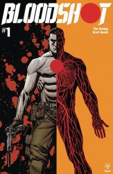 Valiant Entertainment's Bloodshot Issue # 1b