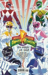 BOOM! Studios's Mighty Morphin Power Rangers Annual # 1
