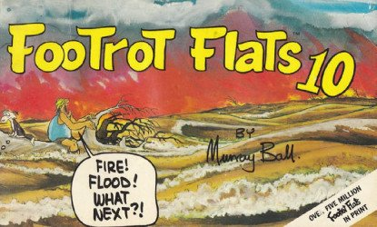 Orin Books's FooTrot Flats Soft Cover # 10