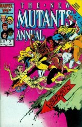 Marvel Comics's The New Mutants Annual # 2