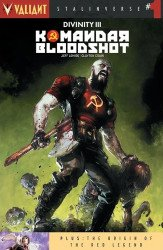 Valiant Entertainment's Divinity III: Komandar Bloodshot Issue # 1 - 2nd print