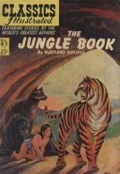 Gilberton Publications's Classics Illustrated #83: The Jungle Book Issue # 4
