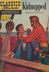 Gilberton Publications's Classics Illustrated #46: Kidnapped Issue # 1h
