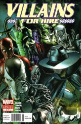 Marvel Comics's Villains for Hire Issue # 1b