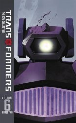 IDW Publishing's Transformers: The IDW Collection - Phase Two  Hard Cover # 6
