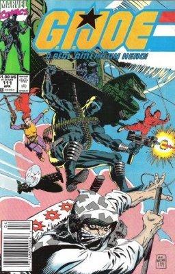 Joe A Real American Hero 1982 series # 59 near mint comic book G.I