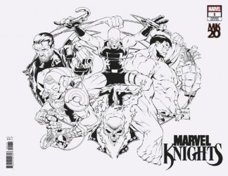 Marvel Comics's Marvel Knights 20th Issue # 1g