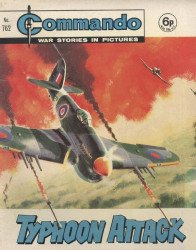 D.C. Thomson & Co.'s Commando: War Stories in Pictures Issue # 762