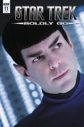 IDW Publishing's Star Trek: Boldly Go Issue # 11ri