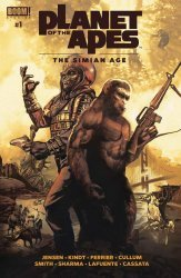 BOOM! Studios's Planet of the Apes: Simian Age Issue # 1